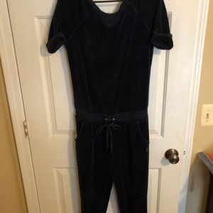 Juicy Couture Velvet Jumpsuit